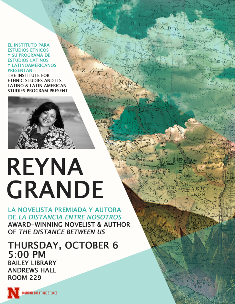 Poster for Reyna Grande reading
